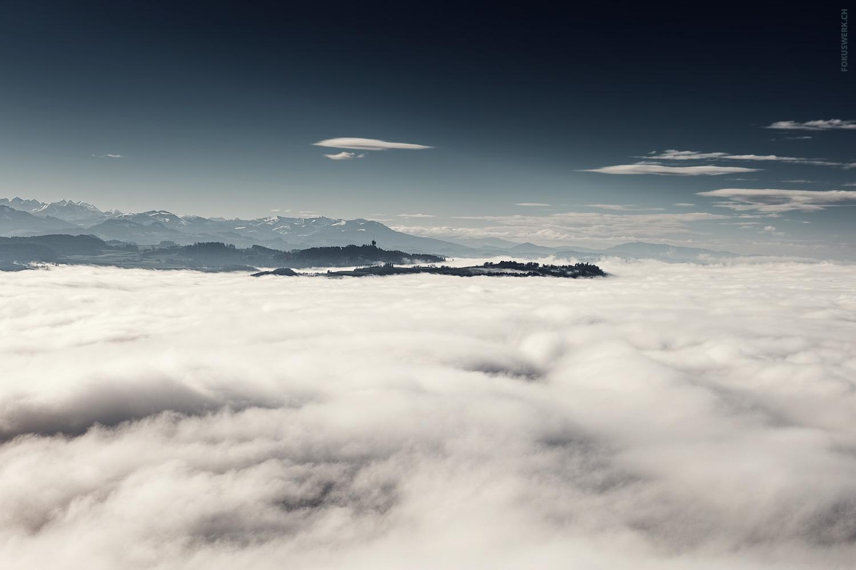 Nebelmeer über Bern