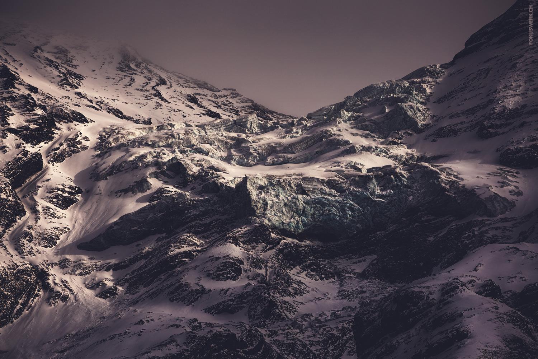 Gletscher oberhalb des Öschinensees